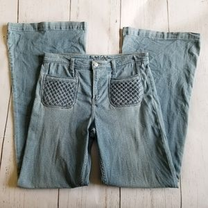 Abercrombie & Fitch Jeans Lightwash Flare 12R